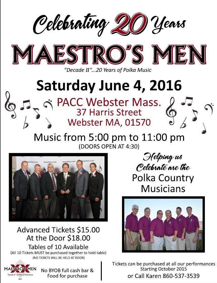 Maestro's Men Dance